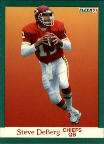 1991 Fleer Football Card #89 Steve DeBerg