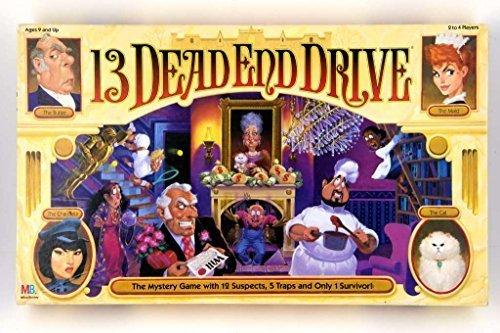 Milton Bradley 13 Dead End Drive Board Game -