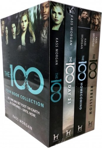 Kass Morgan 100 Series 4 Books Collection Set (The 100, The 100: Day 21, Homecoming, Rebellion)