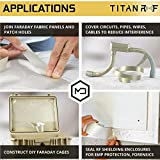 TitanRF Faraday Tape - High-Shielding Conductive