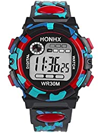 Kids Child Boy Girl Watches Multifunctional Waterproof...