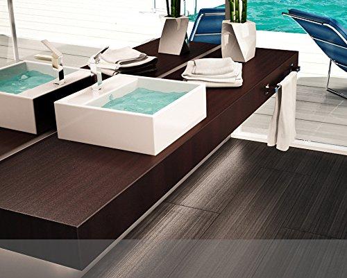 Mobile Arredo Bagno Mensola per Lavabo Piano d'appoggio varie misure legno in 50 colori Mobili Bagno Italia