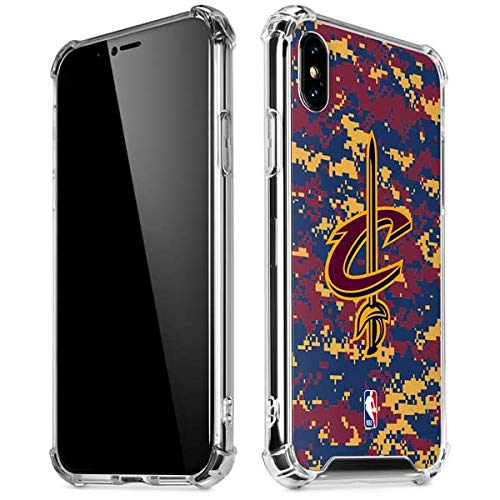3aea63cd7 Skinit Cleveland Cavaliers Digi Camo iPhone XR Clear Case - Officially  Licensed NBA Phone Case Clear