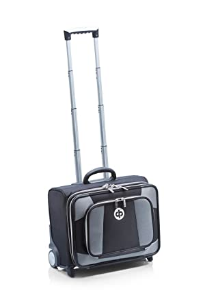 ca76db2ef7a4 Drakes Pride - Low Roller Trolley Bag with 2 x Dual Pair Bowls Bags (Black