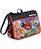 Angry Birds Black/Red Messenger Bag