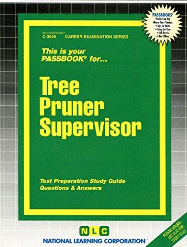 Tree Pruner Supervisor(Passbooks)