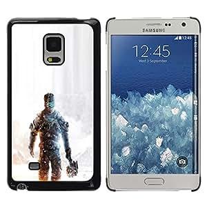 Caucho caso de Shell duro de la cubierta de accesorios de protección BY RAYDREAMMM - Samsung Galaxy Mega 5.8 - Dead Spac3