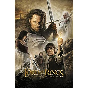 The Lord Of The Rings The Return Of The King 4  Poster Greatest Movies