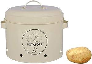 Esschert Design Potato Storage Tin, Metal