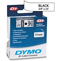 DYMO D1 45803 Tape - 0.75 Width x 23 ft Length - 1 Roll - Polyester - Thermal Transfer - White / 45803DYMO /