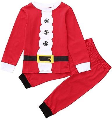 Baohooya Conjuntos Bebe Niño Invierno - Disfraz Elfo Navidad Niñas ...