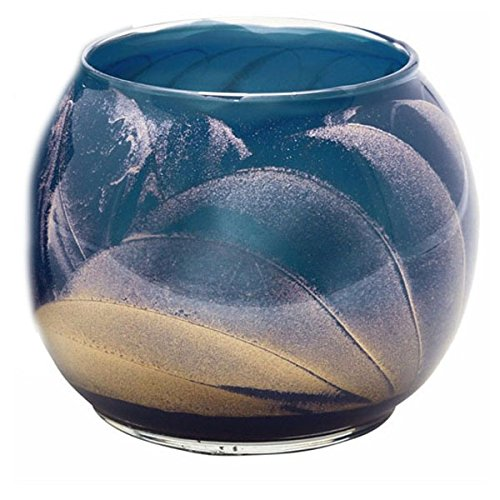 Esque Midnight 4 Inch Globe Candle (Fragranced Candle Globe)