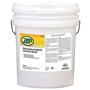 Powdered Concrete Floor Cleaner, Orange