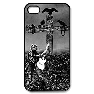 Custom iPhone 4,4S Case, Zyoux DIY Cheap iPhone 4,4S Cell Phone Case - Nirvana