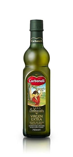 Aceite de oliva virgen extra carbonell gran selección 0,75 litro en vidrio