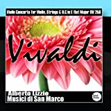 Vivaldi: Violin Concerto for Violin, Strings & B.C in E flat Major RV 256