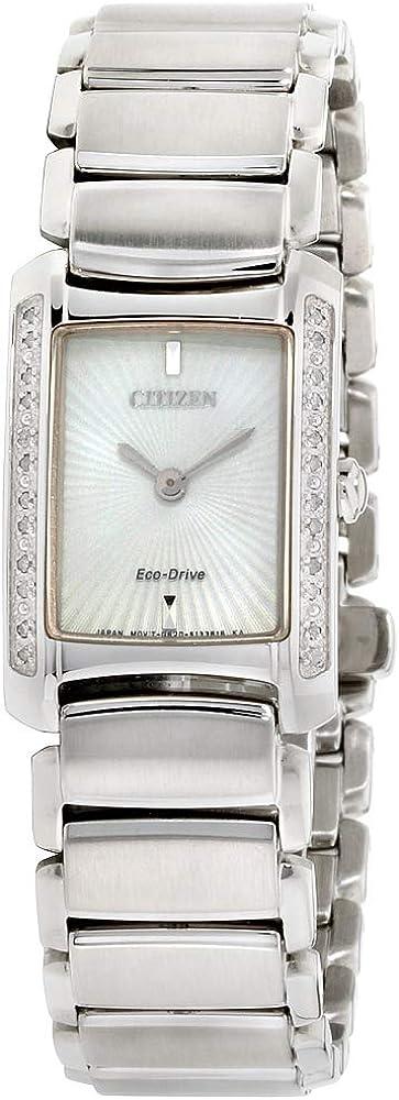 Citizen Eco-Drive Citizen L Euphoria Reloj con Diamantes para Mujer