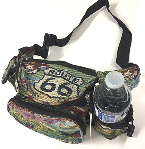 Explorer Route 66 Ladies Hand Bag, 9.5 x 3.5-Inch