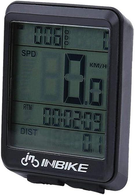 Tbest cuentakilómetros para Bicicleta Multifunción Impermeable 4 ...