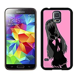 Popular Designed Case With Schoolgirl Cover Case For Samsung Galaxy S5 I9600 G900a G900v G900p G900t G900w Black Phone Case CR-568
