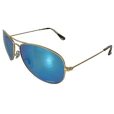 51e1b2878bf Amazon.com  Ray Ban Mens RB3562 Chromance Polarized Sunglasses