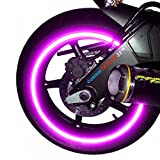 NEW customTAYLOR33 Special Edition Purple High Intensity Grade Reflective Copyrighted Safety Rim Tapes, 17