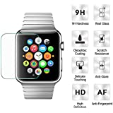 AutumnFall Premium Tempered Glass Screen Protector Guard Film for Apple Watch...