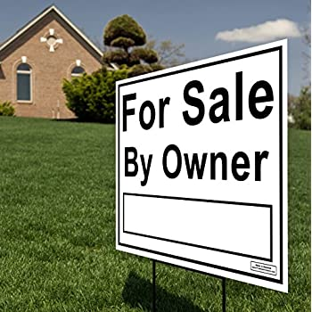 Amazon com : For Sale By Owner Yard Sign (5 Pack) - PRO Home