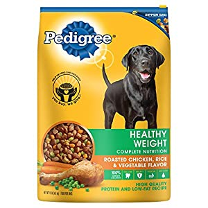 PEDIGREE Healthy Weight Adult Dry Dog Food (Chicken, 15 lbs (Pack of 2))