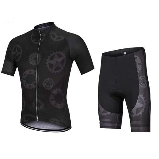 AQWWHY Conjunto de Ropa de Ciclismo para Hombre Camisa de ...