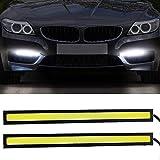 DRL LED Lights COB Daytime Running Lights LED Light Bar Slim Fog Driving