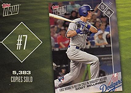 Amazoncom 2018 Topps Now Top 10 Cody Bellinger 2017 1st Rookie