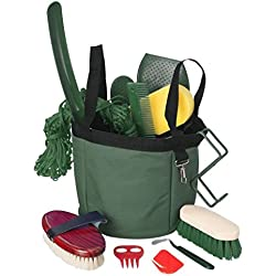 Show Time Groomers Set W/Tote Green
