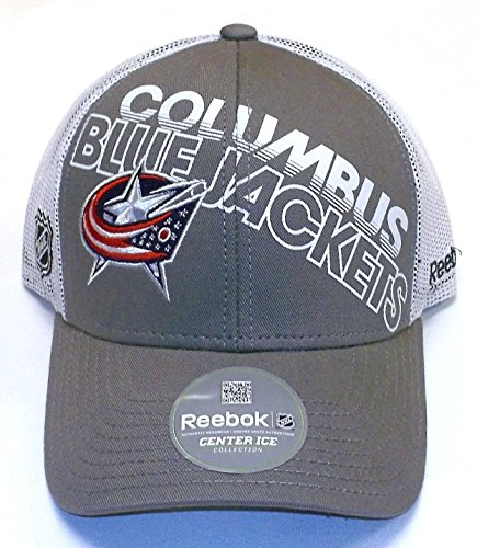 Columbus Blue Jackets Trucker Mesh Back Reebok Hat - Osfa - NH34Z