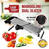 Chop Chop! Japanese-Style Multifunctional Mandoline Dial Slicer