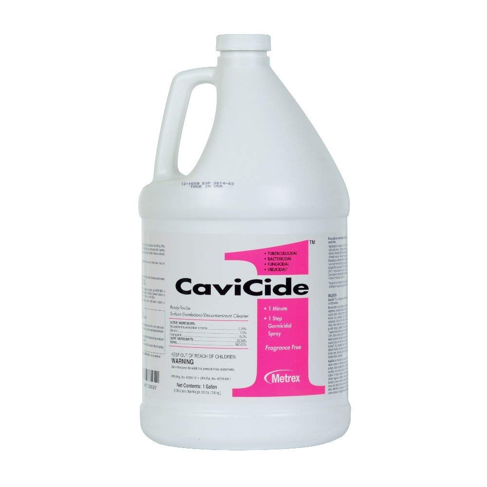 CaviCide1 13-5000 Surface Disinfectant Cleaner Case of 4
