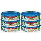 Playtex Diaper Genie Refill, Paquete de 6 (1,620 unidades, 6 paquetes de 270 unidades cada uno)