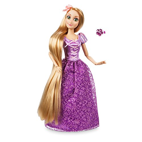 Disney Classics Dolls (Disney Rapunzel Classic Doll with Ring - Tangled - 11 1/2)