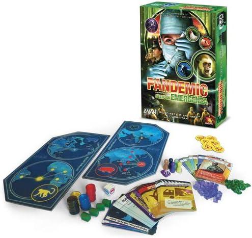 Asmodee Italia Pandemic Estado de Emergencia Juego de Mesa, Color Verde, zmg71103it: Amazon.es: Juguetes y juegos
