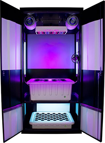 Amazon.com: Supercloset Grow Box LED Deluxe 3.0 LED Grow Cabinet ...