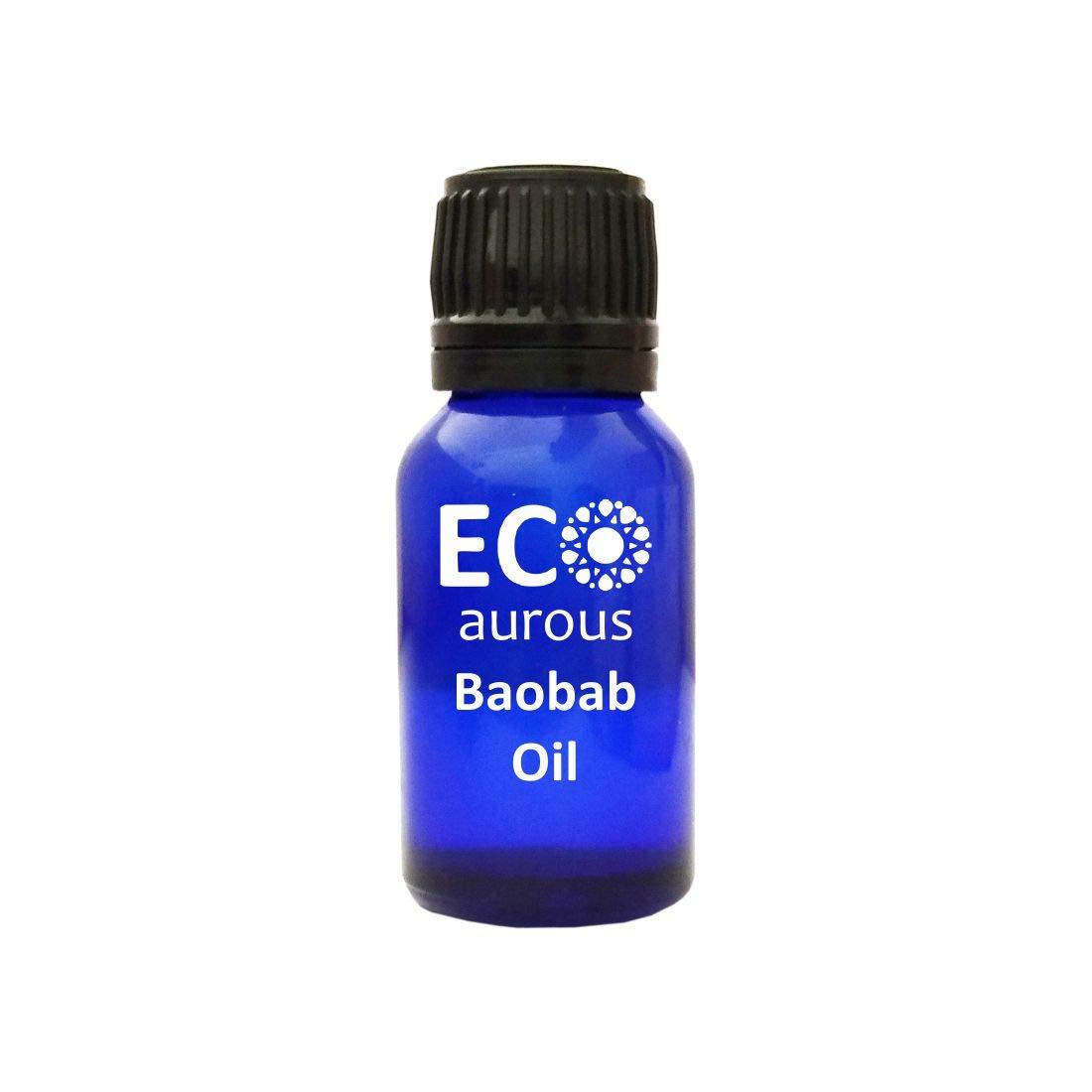 Baobab Oil (Adansonia) 100% Natural & Organic Baobab Carrier Oil Online By Eco Aurous (500 ML)