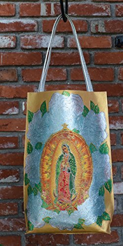 Our Lady of Guadalupe Gold by Mundo Cruel XYZ