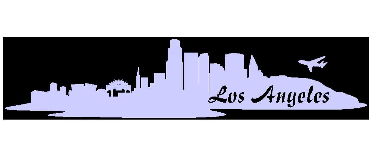 Samunshi® Aufkleber Los Angeles Skyline Autoaufkleber LA in in in 9 Größen und 25 Farben (180x39cm kupfermetalleffekt) B009EQ3YC2 | Deutschland Online Shop  a408a6