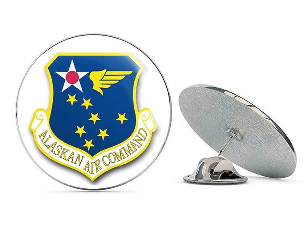 US Air Force Alaskan Air Command Military Veteran USA Pride Served Gift Metal 0.75' Lapel Hat Pin Tie Tack Pinback Veteran Pins
