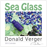 2015 SEA GLASS Fine Art Nature Wall Calendar 12X12 - A Unique Great Birthday, Anniversary, Valentines Day, Mothers Day, Wedding & Best Christmas Gift
