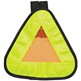 Aardvark Reflective Yield symbol 7x7'' with Velcro Strap