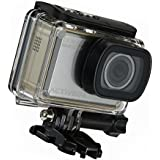 ACTIVEON CX Gold 1080p Action Camera Kit w/Waterproof Housing, 8GB microSDHC Card 2x Li-on Batteries and Case - KGA08F
