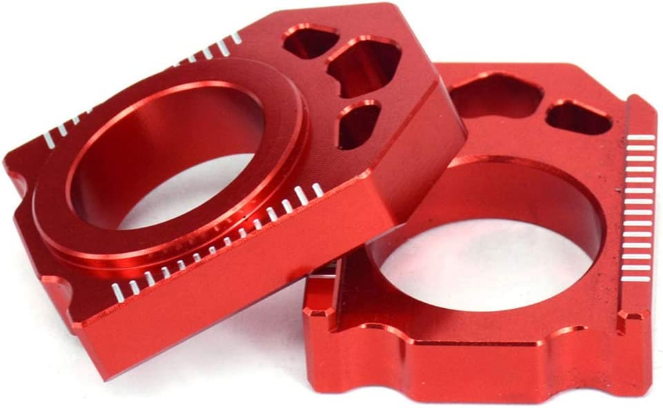 Semoic Motorcycle CNC Rear Adjuster Block Chain for Cr125r Cr250r Cr 125 250 r Crf250r Crf250x Crf450r Crf450x Crf450rx Crf 450