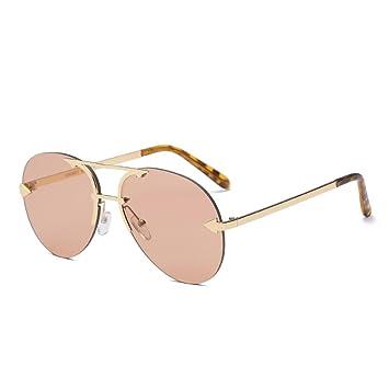 bocolax (TM) ovalada sin montura lente transparente gafas de ...