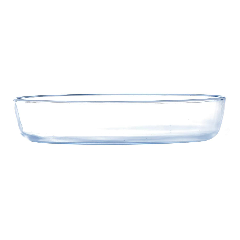Cacerola ovalada de cristal Royalford, 4,5 L más tapa de cristal 1 ...